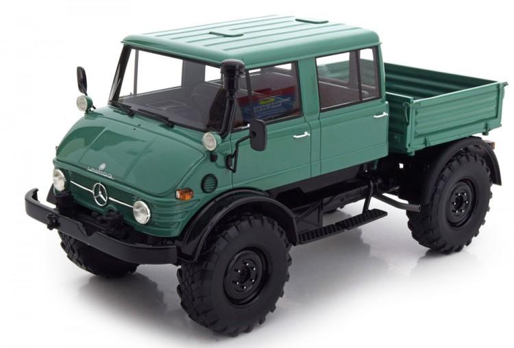 Купить 1:18 MERCEDES-BENZ Unimog 416 DoKa 1975 Green/Black - PREMIUM CLASSIXXS в Seven Models
