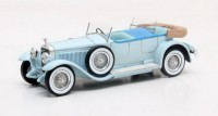 1:43 HISPANO Suiza H6B Million-Guiet Dual-Cowl Phaeton 1924 Blue