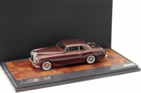 1:43 BENTLEY S1 Continental Park Ward FHC #BC-16-LAF ex Jack Warner 1956 Brown/Maroon