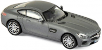 1:43 MERCEDES-AMG GT S (С190) 2015 Mat Grey Metallic