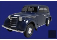 1:18 Москвич 400-420 1946 (dark blue)