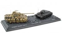 "1:72 набор Т-34-76 и Panzer V ""Panther"" Ausf.D (Sd.Kfz.171) Курская дуга СССР 1943"