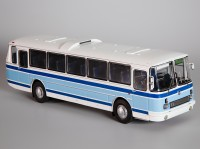 1:43 ЛАЗ 699Р бело-голубой