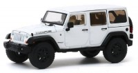 1:43 JEEP Wrangler 4x4 Unlimited Moab 5-дв. (Hard Top) 2013 Bright White