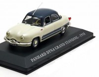 1:43 PANHARD DYNA GRAND STANDING 1958 Creme-White/Blue