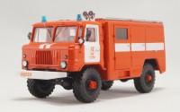 1:43 АСО-5 (66) мод.90 Автомобиль связи и освещения на шасси Горький-66-01 образца 1975 года