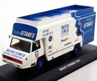 "1:43 BERLIET STRADAIR Race Transporter ""GITANES Matra Simca"" 1974"