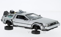 "1:24 DE LOREAN Flying Wheel Version механизм колес рабочий!!! ""Back to Future 2"" (из к/ф""Назад в будущее 2"") 1983"