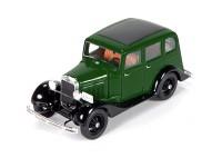"""1:43 Горький тип Аремкуз """"Такси"""" 1934 (зеленый / черный)"""