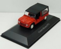 1:43 CITROEN Mehari 1971 Red/Black