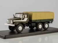 1:43 Уральский грузовик 43223 бортовой с тентом