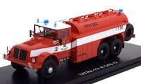 1:43 TATRA 111 R CAS-12 (пожарный) 1950 Red