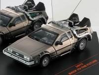 """1:43 DeLorean DMC12 """"Back to Future"""" (из к/ф""""Назад в будущее"""") 1985"""