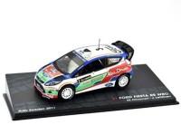 1:43 FORD Fiesta RS WRC #3 M.Hirvonen/J.Lehtinen победитель Rally Sweden 2011