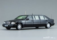 1:43 Mercedes-Benz S500 Pullman Guard (W140) (Президент Б. Ельцин) (черный)