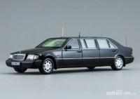1:43 Mercedes-Benz S500 Pullman Guard (W140) (Президент Б. Ельцин) (черный)
