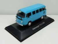 1:43 VW T2b Bus 1982 Blue
