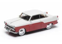 1:43 Willys Aero Bermuda 2 door hard top 1955 (red / white)