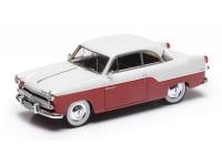 1:43 Willys Aero Bermuda 2 door hard top 1955 (red / white)