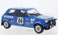 "1:18 RENAULT 5 Alpine #4 ""Gitanes"" Ragnotti/Andrie Rally Bandama 1978"