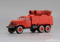 1:43 ЗИЛ 157, пожарная цистерна на базе  8ТЗ11 с доп. ПТВ на цистерне, L.e. 40 экз.