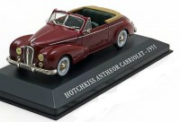 1:43 HOTCHKISS ANTHEOR CABRIOLET 1953 Dark Red