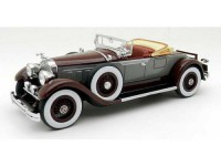 1:43 PACKARD 640 Customs Eight Roadster 1929 Dark Red/Grey