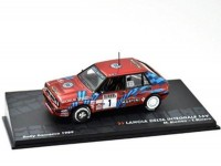 "1:43 LANCIA Delta HF Integrale 16V ""MARTINI"" #1 M.Biasion/T.Siviero победитель Rally Sanremo Чемпион мира 1989"