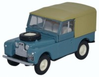 1:76 LAND ROVER Series I 88 Canvas 1950 Marine Blue