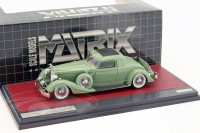 1:43 PACKARD 1108 Twelve Stationary Coupe Dietrich 1934 Green