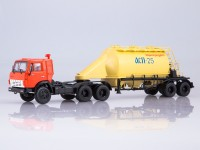 1:43 Камский грузовик-54112 с полуприцепом-муковозом АСП-25