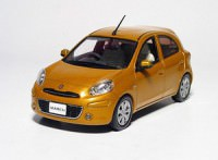 1:43 Nissan Micra/March K13 (sunlight orange)