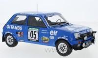 "1:18 RENAULT 5 Alpine #5 ""Gitanes"" Frequelin/Delaval Rally Bandama 1978"
