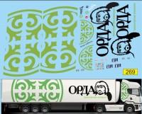 1:43 набор декалей Транспортная компания Орда