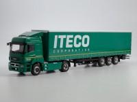 1:43 КАМский грузовик-5490 с полуприцепом НЕФАЗ-93341 ITECO