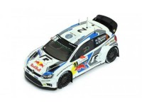 1:43 VW POLO R WRC #2 J-M.Latvala-M.Anttila Winner Rallye de France 2014
