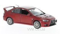 1:43 MITSUBISHI Lancer Evo X Final Edition 2015 Metallic Red