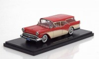 1:43 BUICK Century Caballero Estate Wagon 1957 Red/Beige