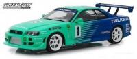 1:18 NISSAN Skyline GT-R (R34) #1 Falken Tires 1999