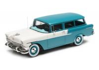 1:43 Chevrolet 150 Handyman wagon 1956 (blue / white)