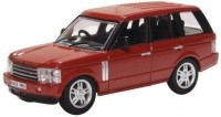 1:76 RANGE ROVER (L322) 2002 Dark Red