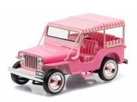 "1:43 JEEP Surrey CJ3B Elvis Presley ""Pink Jeep"" 1960"