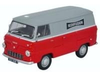 """1:43 FORD 400E Van """"Rediffusion"""" 1965"""