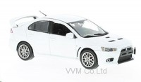 1:43 MITSUBISHI Lancer Evo X Final Edition 2015 Metallic White