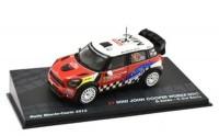 1:43 MINI John Cooper Works WRC #37 D.Sordo/C.Del Barrio Rally Monte-Carlo 2012