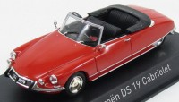 1:43 CITROËN DS19 Cabriolet 1965 Corail Red