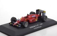 "1:43 FERRARI F1 87 #28 Gerhard Berger ""Scuderia Ferrari"" 1987"