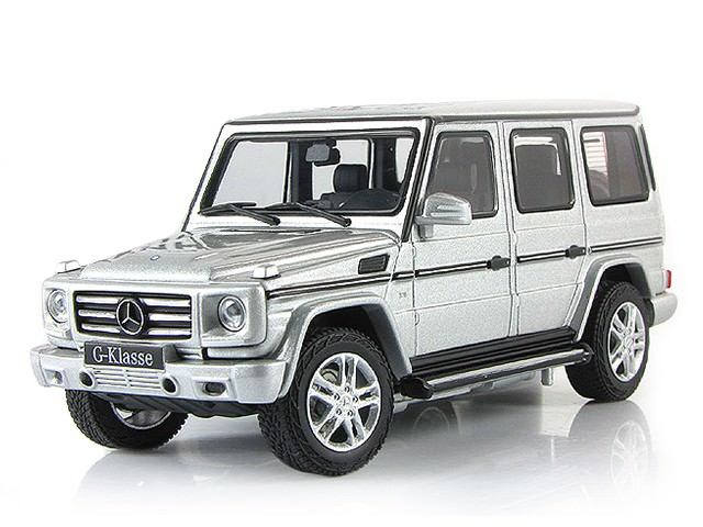 1:43 Mercedes-Benz G500 2012 (silver)
