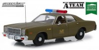 "1:18 PLYMOUTH Fury ""U.S. Army Police"" 1977 (из т/с 'Команда А"")"