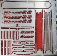 1:43 набор фототравления Икарус-66 Наши Автобусы Базовый   матовый никель